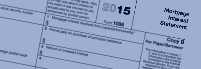 Information on Your Year End Mortgage Tax Statements